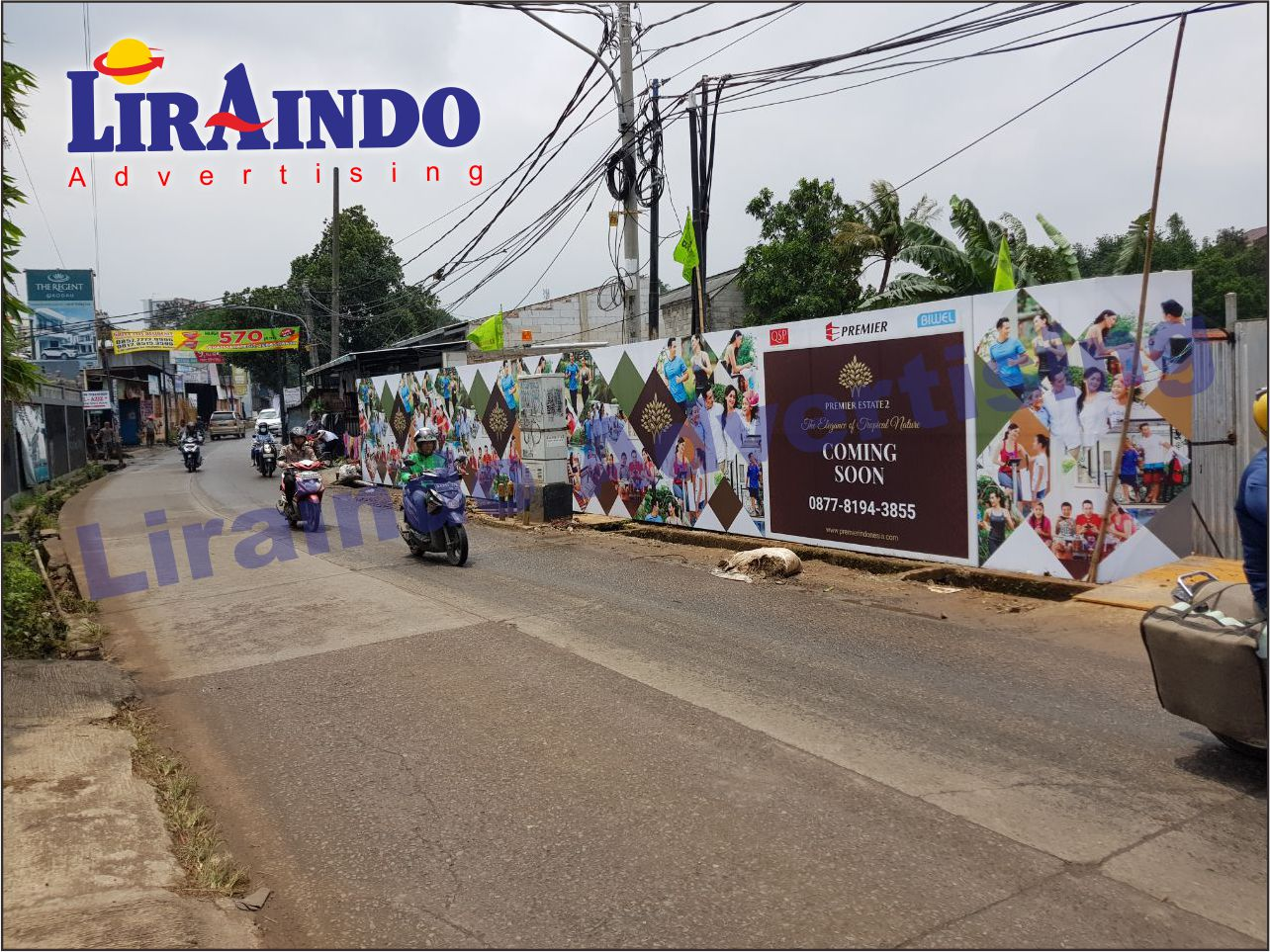 Jasa Pemasangan HOARDING PAGAR ( Liraindo Advertising )