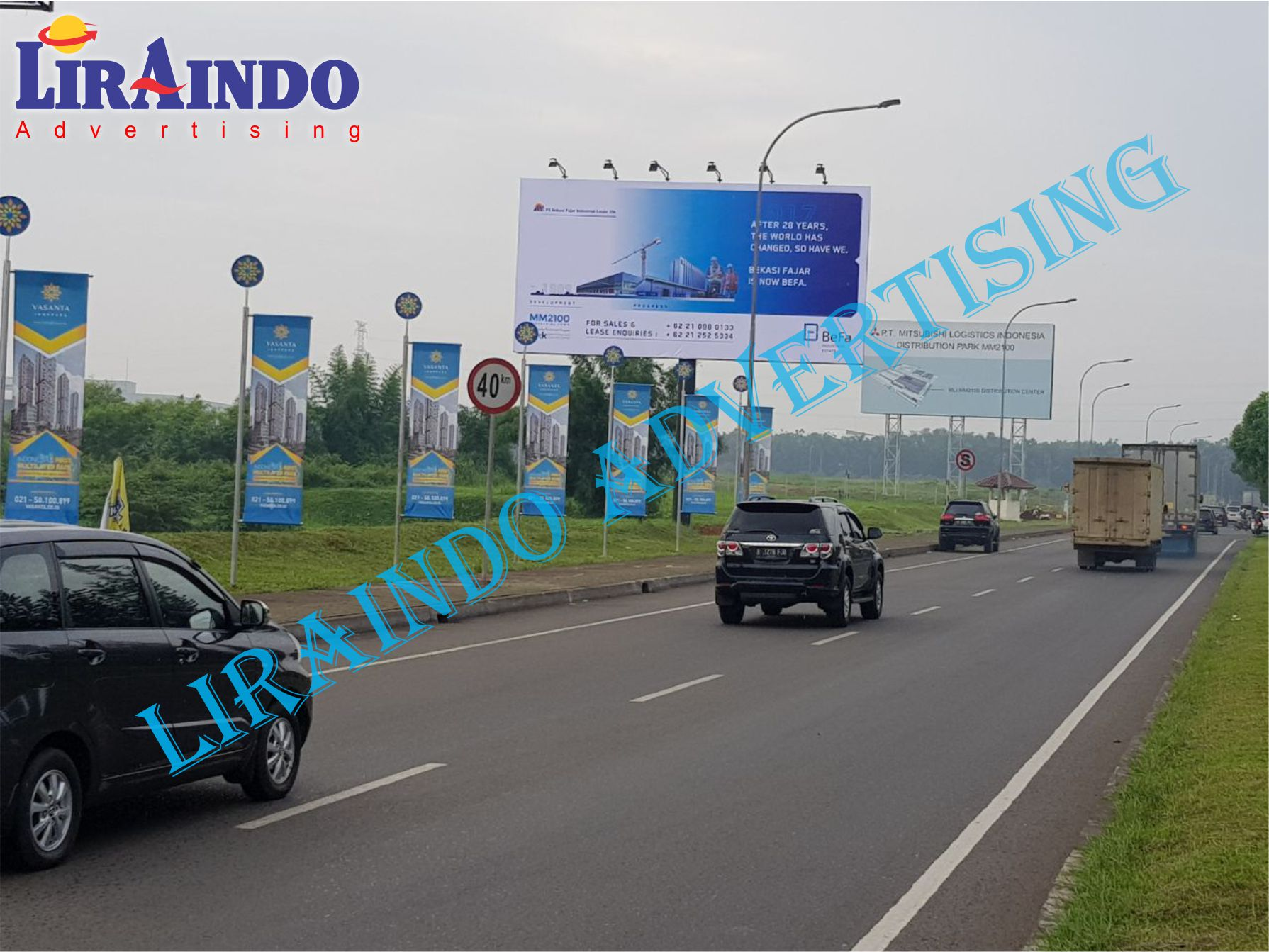 Jasa Pemasangan Billboard Di Area Toll