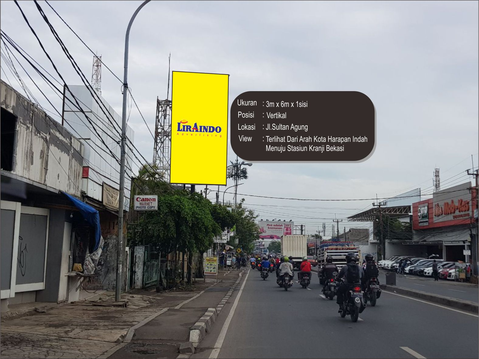 SPACE AVAILABLE WILAYAH BEKASI