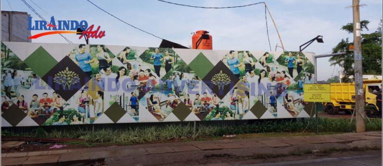 Jasa Pembuatan dan Pemasangan Hoarding Pagar Di Bekasi