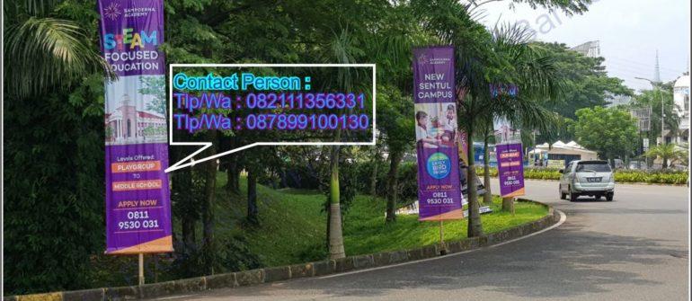 Jasa Pembuatan dan Pemasangan T-Banner Di Bogor