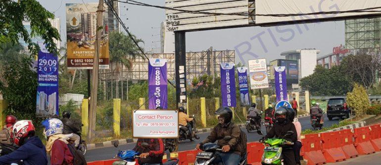 Jasa Pemasangan T-Banner di Bekasi