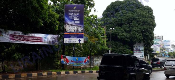 Jasa Produksi dan Pemasangan Billboard di Tambun