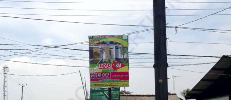 Jasa Produksi dan Pemasangan Billboard di Subang