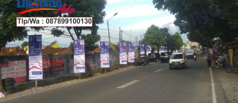 Jasa Produksi dan Pemasangan T-Banner di Bogor