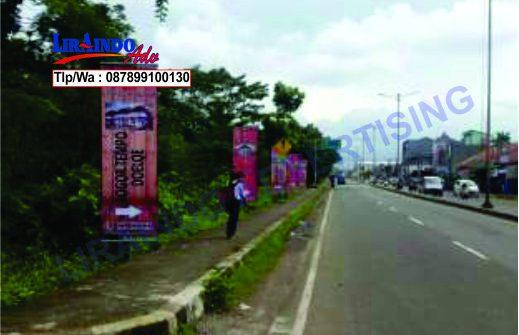 Jasa Produksi dan Pemasangan T-Banner di Tangerang